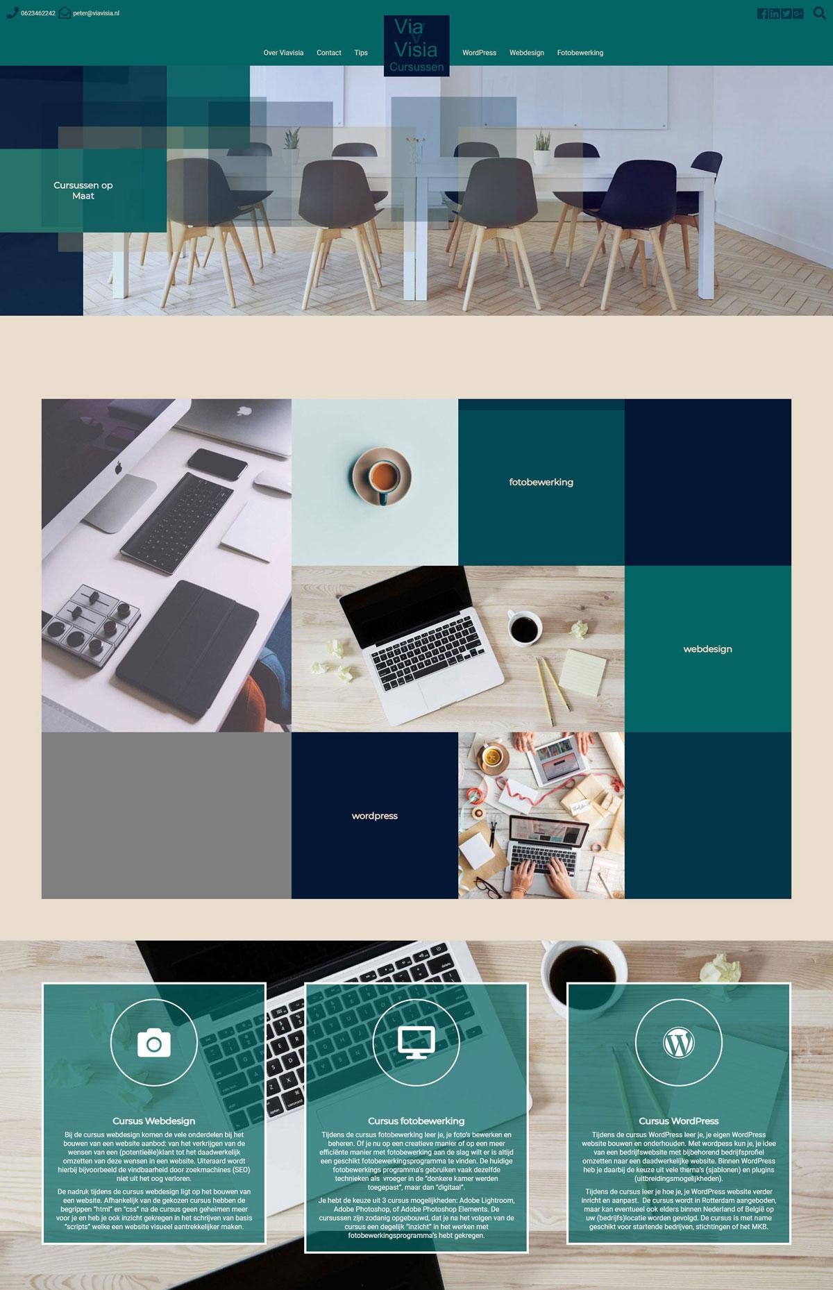 Home-Viavisia-cursussen-Wordpress-webdesign-fotobewerking-Rotterdam-e-o-portfolio-v2